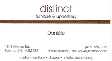 Distinct Furniture