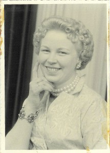 My mom, Audrey Rosenblath