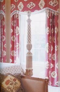 valance, curtains, custom draperies